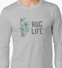 Camiseta de manga larga Abraza la vida