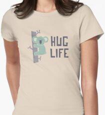 Camiseta entallada para mujer Abraza la vida