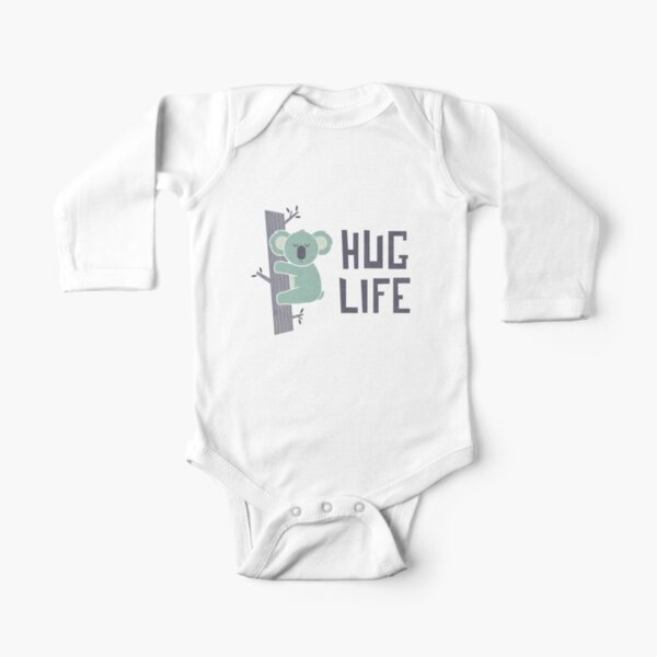 Hug Life Long Sleeve Baby One-Piece