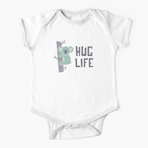 Umarme das Leben Baby Body Kurzarm