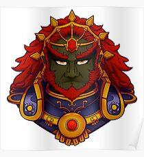 Ganondorf Bust Poster