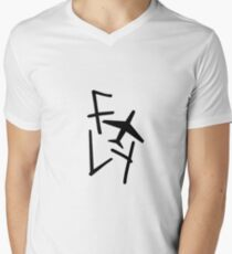 got7 flight log Men's V-Neck T-Shirt