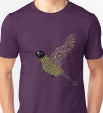 Abstract Hummingbird Unisex T-Shirt