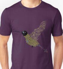 Abstract Hummingbird Unisex T-Shirt