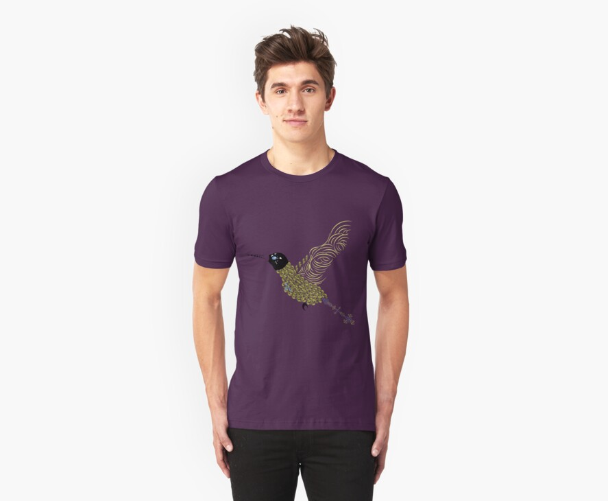 Abstract Hummingbird by Daniel Bevis