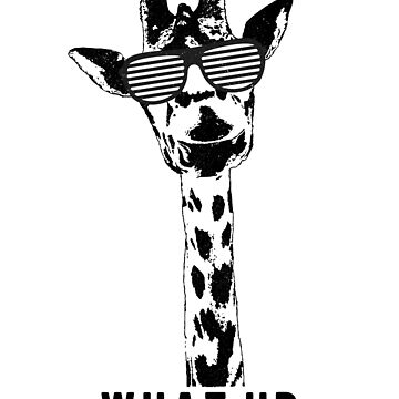 What up? Awesome giraffe  by MustLoveAnimals