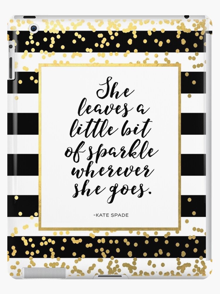 graphic about She Leaves a Little Sparkle Wherever She Goes Free Printable identify Birthday Decorations Indicator She Leaves A Small Sparkle Any where She Goes Blush Black and Gold Glitter Printable Little one Lady Nursery Decor Wall Artwork iPad