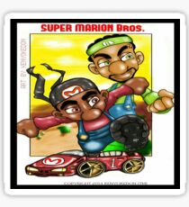 It's the Super Marion Brothers! Sticker