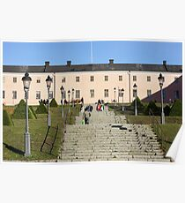 Uppsala Castle, steps Poster
