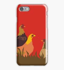 chooks iPhone Case/Skin