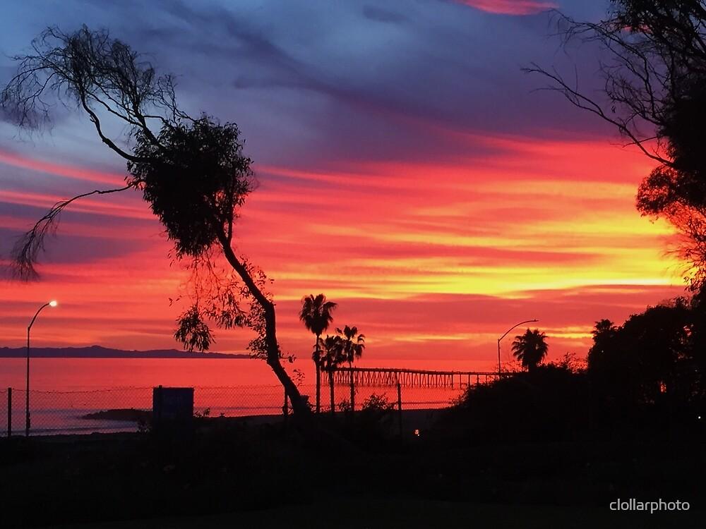 Santa Barbara Sunset  by clollarphoto