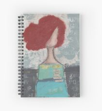 Trusting with her heart Spiral Notebook