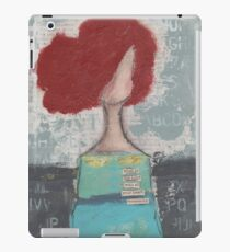 Trusting with her heart iPad Case/Skin