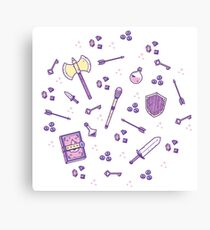 Role Playing Items 02 Canvas Print