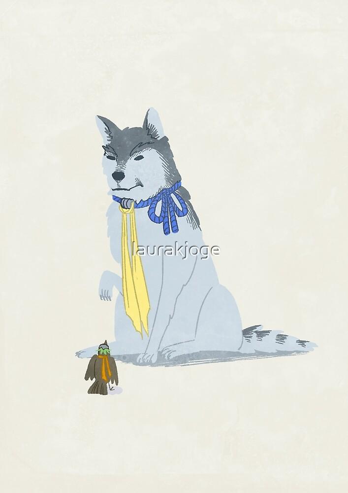 Wolf Hanzo & Sparrow Genji by laurakjoge