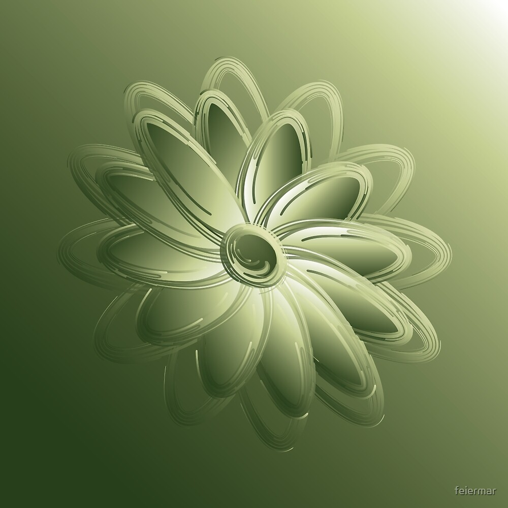 green petals by feiermar
