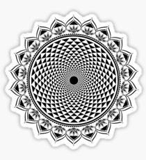 Crown Chakra, Sahasrara , Yoga, Buddhism, Lotus Flower Sticker