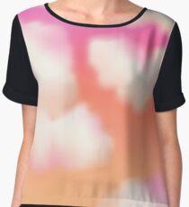 Pastel Sunset Women's Chiffon Top