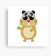 Hamster Heapify Canvas Print