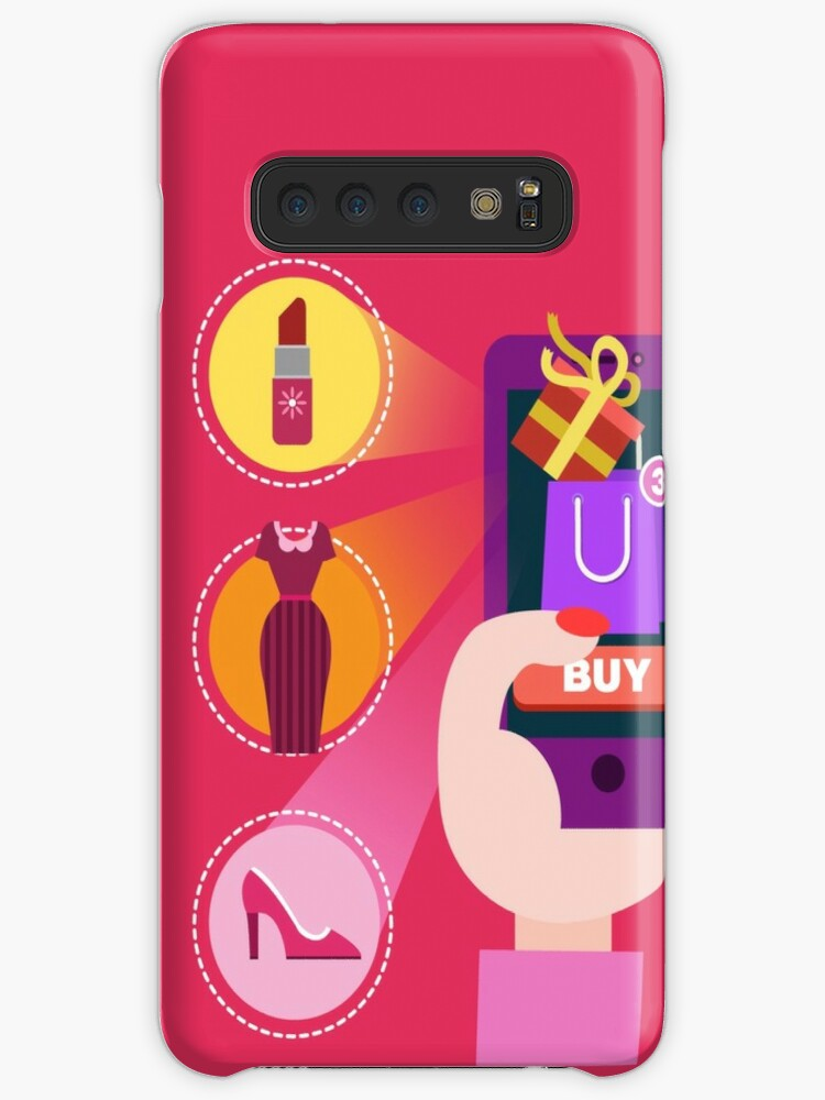 save off d129b 593db 'Concept of Mobile Online Shopping' Case/Skin for Samsung Galaxy by ivector
