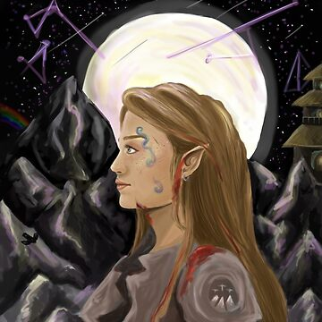 Feyre - Defender of the rainbow by archerxn