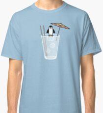 Penguin on the rocks Classic T-Shirt