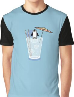 Penguin on the rocks Graphic T-Shirt
