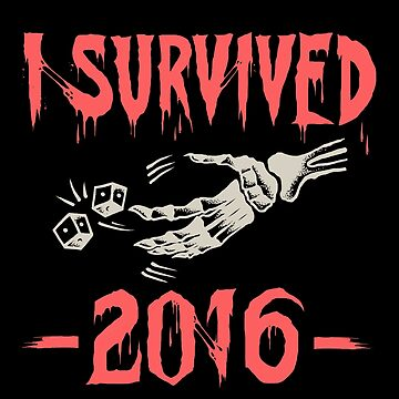 I survived 2016 - colour type by TheTeesy