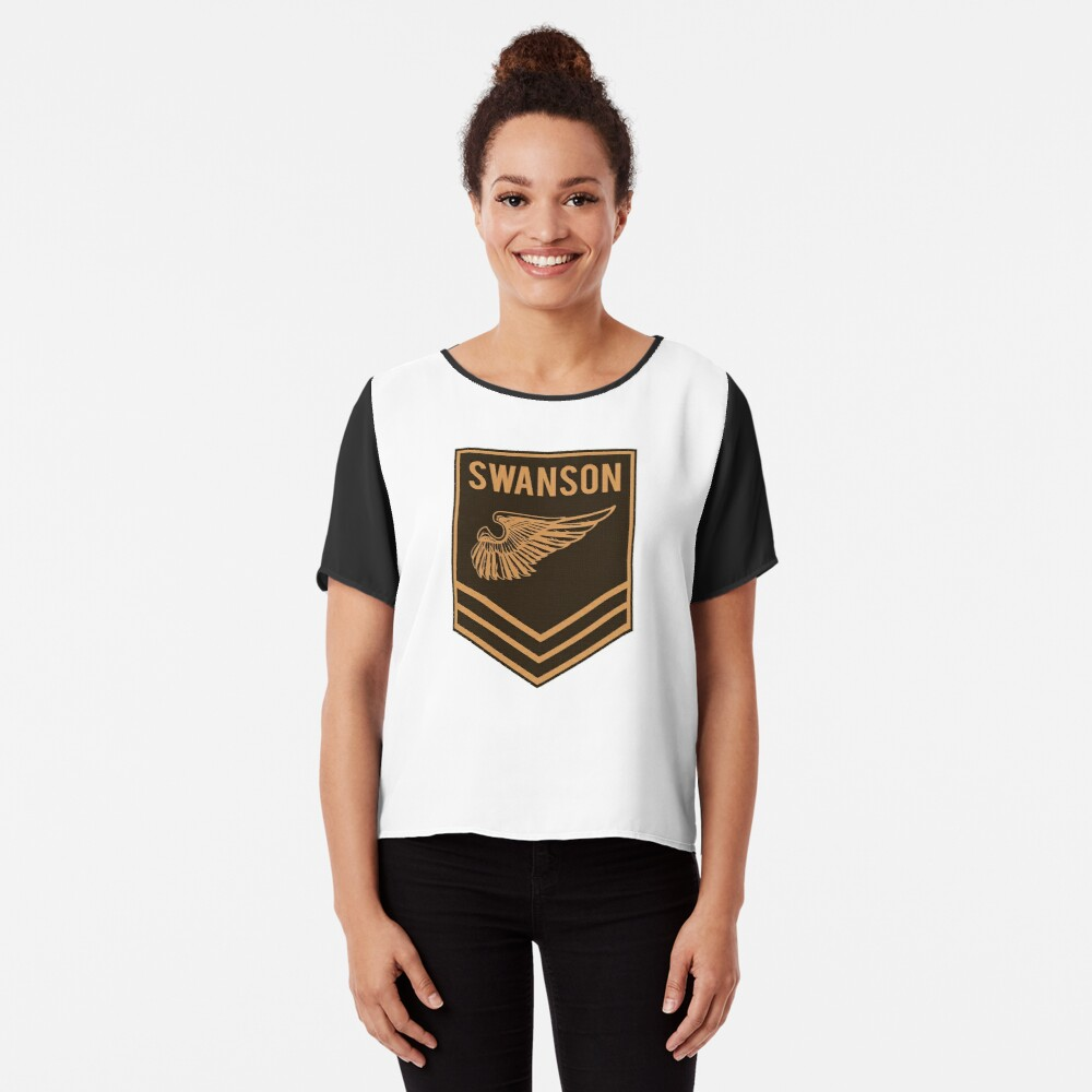 Parks and Recreation - Swanson Ranger Club Chiffon Top