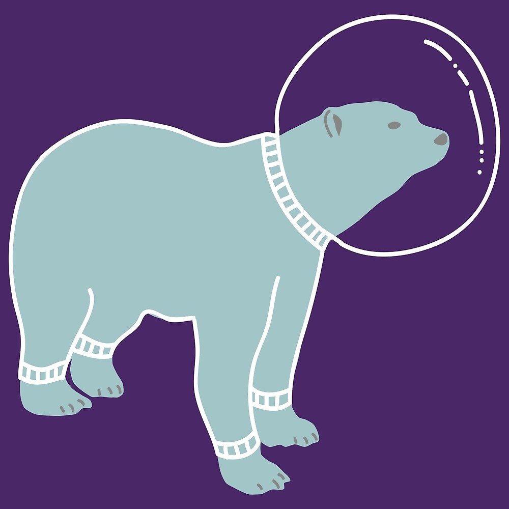 Space Bear by OriginalShirt