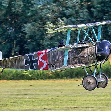 Fokker Dr.1 replica 556/17 G-CFHY by oscar533