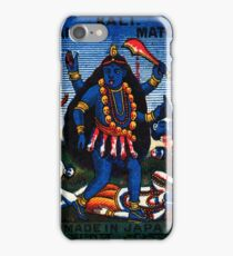 1920 Goddess Kali iPhone Case/Skin