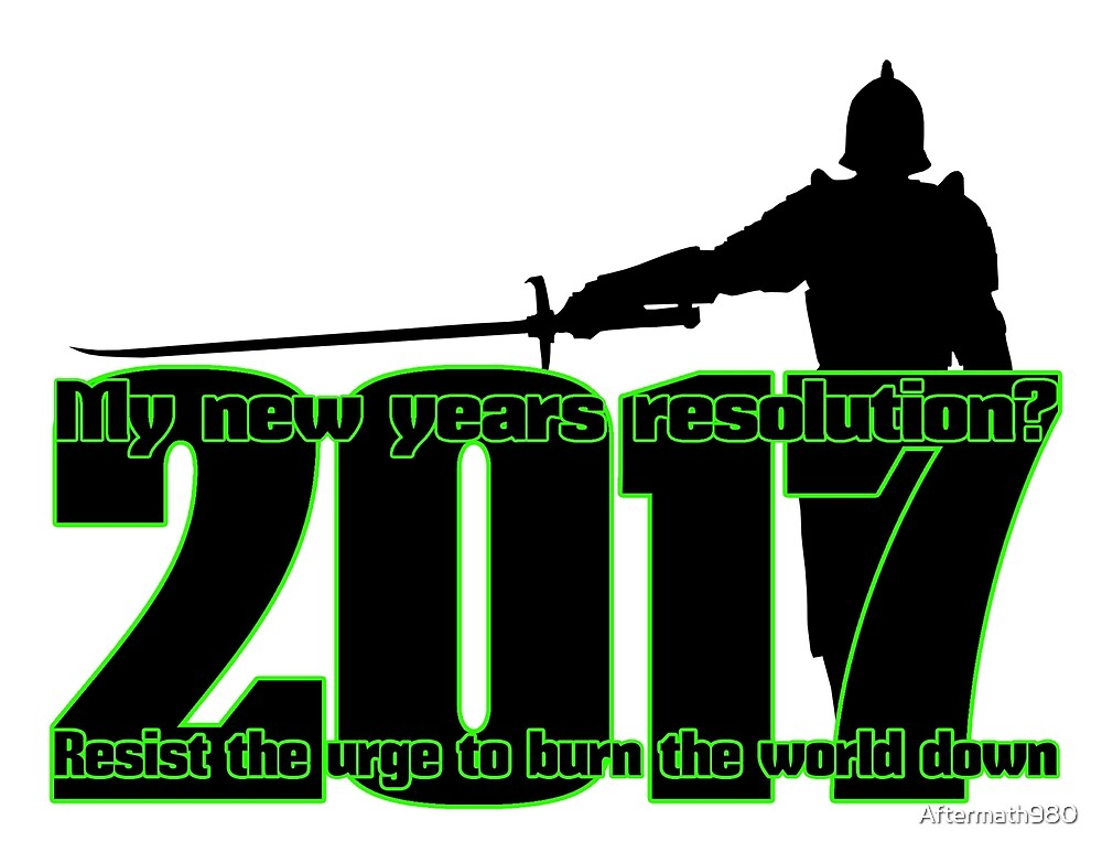 New Years Resolution by Aftermath980