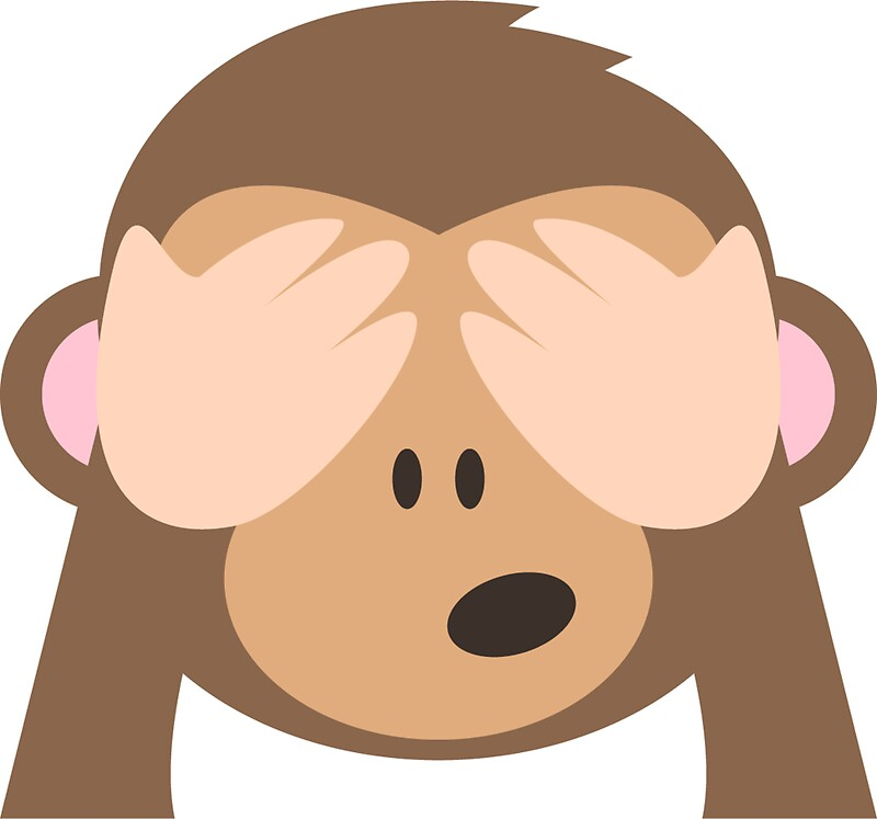 See no evil monkey emoji by stamus