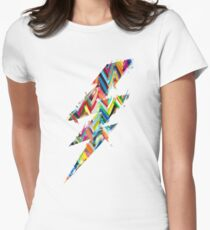graphic lighting Womens Fitted T-Shirt