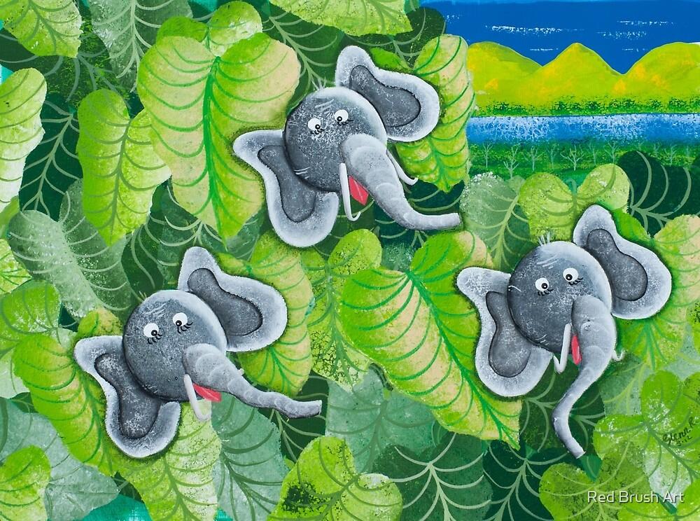 Elephant Ears by Glenn Russell Creations