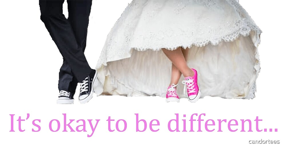 It's okay to be different... by candortees