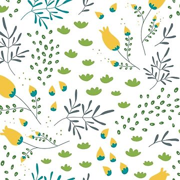 Spring is coming - vector floral pattern by daniteal