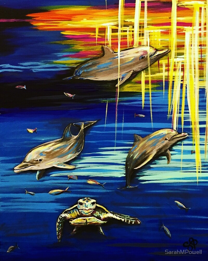 Dolphin Dream World by SarahMPowell