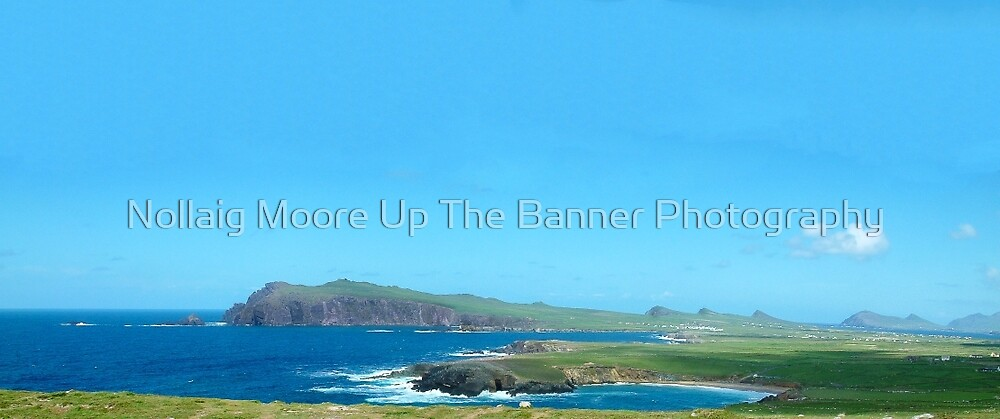 Ring of Kerry, Epic Scenic Irish Landscape and Seascape from county Kerry in Ireland. Along the wild atlantic way. by Noel Moore Up The Banner Photography