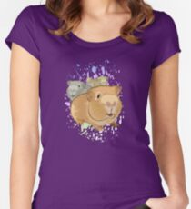 Guinea Pigs Women's Fitted Scoop T-Shirt
