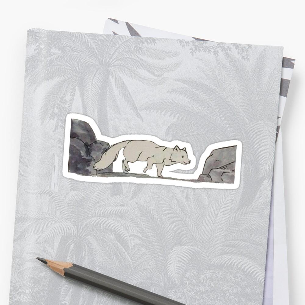 Arctic Fox - Alphabetical Animals by maestyle
