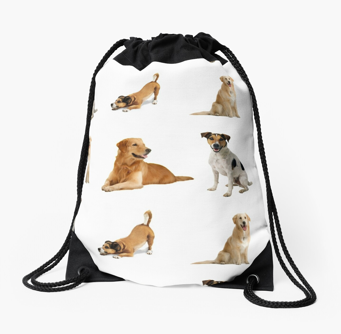 Dogs Pattern Bag by KOTTNKANDY