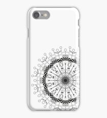 Quidditch themed mandala  iPhone Case/Skin