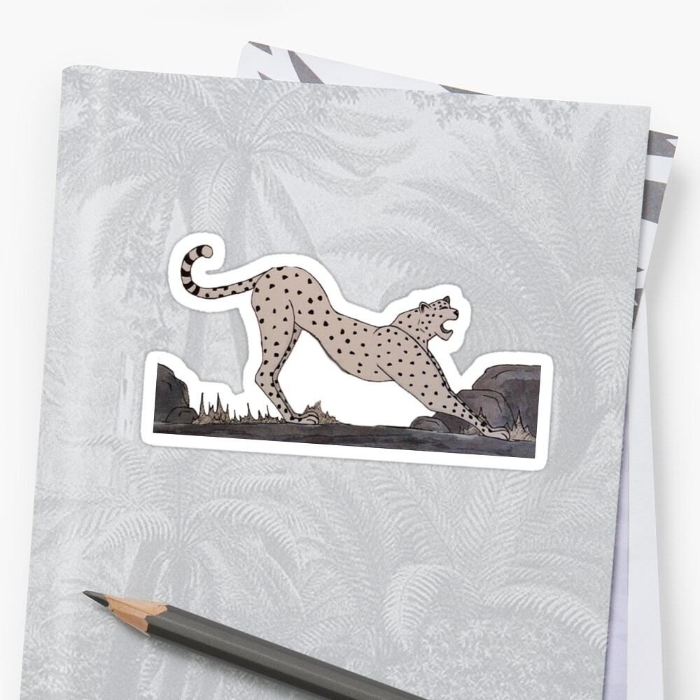 C for Cheetah - Alphabetical Animals by maestyle