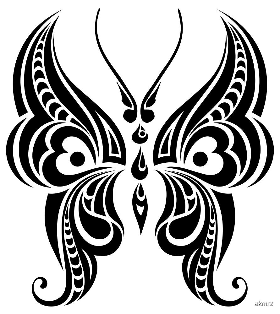 Butterfly - Tribal by akmrz