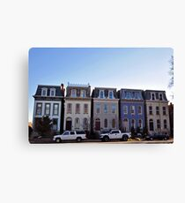 Lafayette Painted Ladies Canvas Print