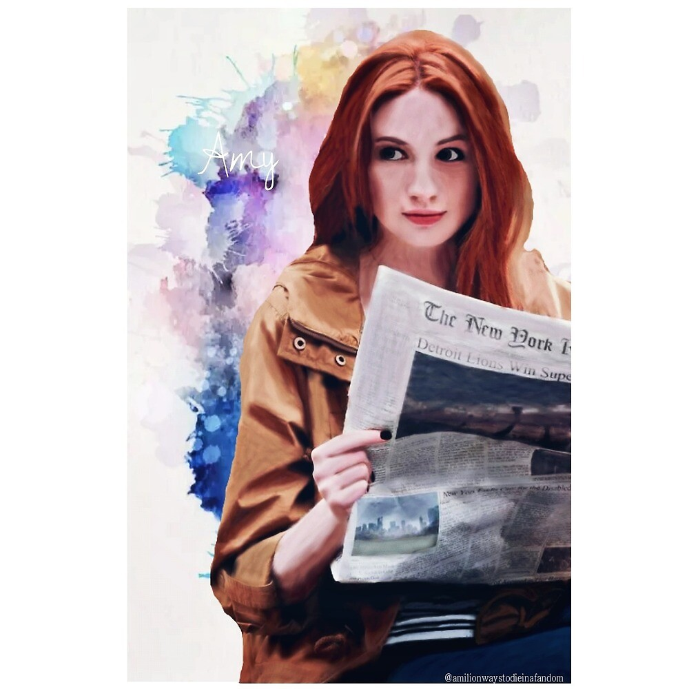 Amy Pond by annilovett