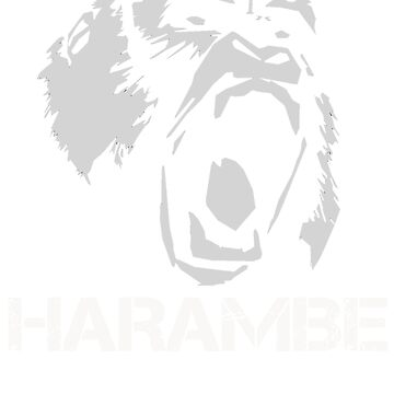 HARAMBE T-SHIRTS by KOKOMIN