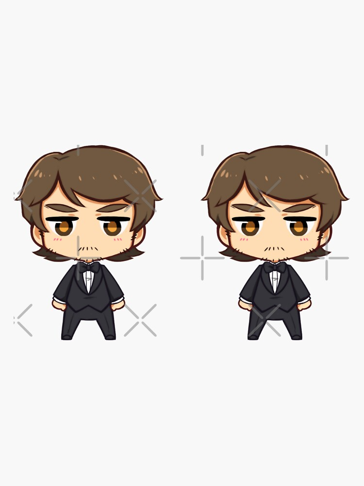 Mini Tony sticker set by Chorvaqueen